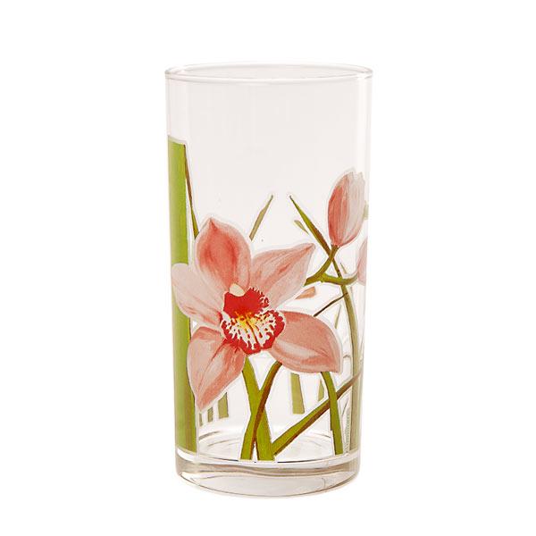 Набор стаканов Luminarc Red Orchis, 270 мл, 6 штJ4944Набор Luminarc Red Orchis состоит из шести стаканов, выполненных из высококачественного стекла и оформленных ярким цветочным рисунком. Изделия предназначены для подачи воды и других безалкогольных напитков. Они отличаются особой легкостью и прочностью, излучают приятный блеск и издают мелодичный хрустальный звон. Стаканы станут идеальным украшением праздничного стола и отличным подарком к любому празднику. Можно мыть в посудомоечной машине. Диаметр стакана (по верхнему краю): 6 см. Высота: 12,5 см.