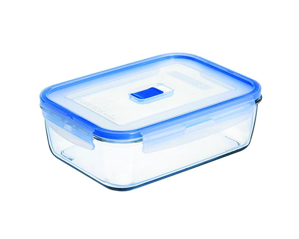 Контейнер Luminarc Pure Box Active, 197 млJ5631Прямоугольный контейнер Luminarc Pure Box Active изготовлен из жаропрочного закаленного стекла и предназначен для хранения любых пищевых продуктов. Благодаря особым технологиям изготовления, лотки в течение времени службы не меняют цвет и не пропитываются запахами. Пластиковая крышка герметично защелкивается специальным механизмом. Контейнер Luminarc Pure Box Active удобен для ежедневного использования в быту. Можно мыть в посудомоечной машине и использовать в СВЧ.