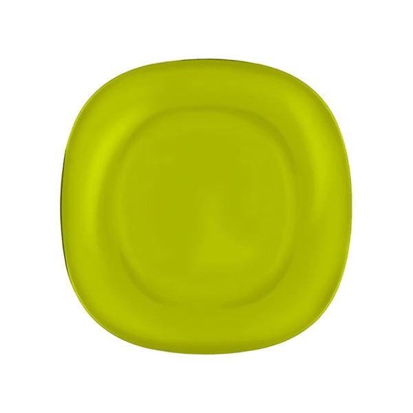 Тарелка десертная Luminarc Colorama, цвет: зеленый, 18 х 18 смJ7763Тарелка десертная Luminarc Colorama изготовлена из ударопрочного стекла. Такая тарелка прекрасно подходит как для торжественных случаев, так и для повседневного использования. Идеальна для подачи десертов, пирожных, тортов и многого другого. Она прекрасно оформит стол и станет отличным дополнением к вашей коллекции кухонной посуды. Изделие можно мыть в посудомоечной машине, ставить в микроволновую печь и холодильник.