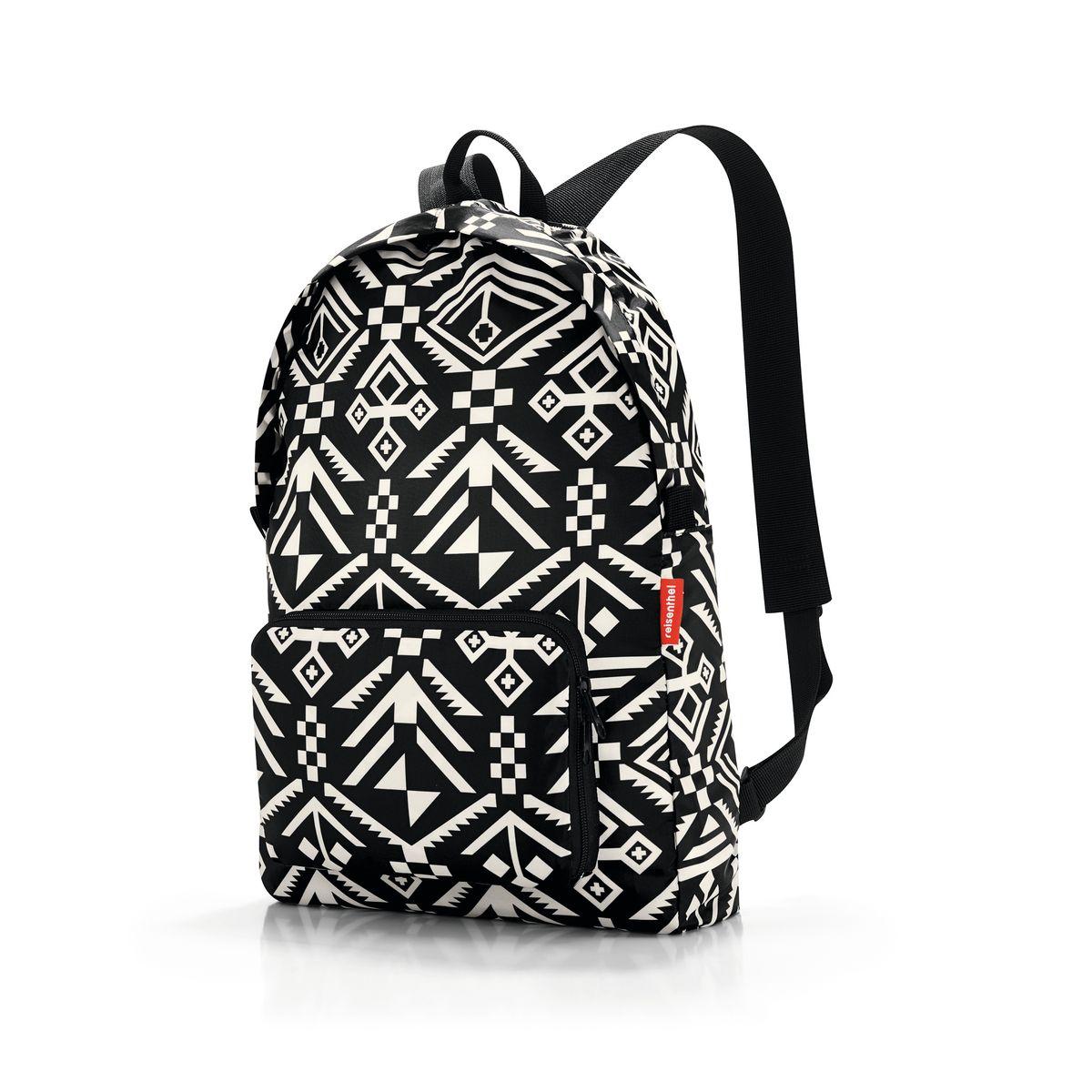 Рюкзак женский Reisenthel, складной, цвет: черный, слоновая кость. AP7034 ( AP7034 )