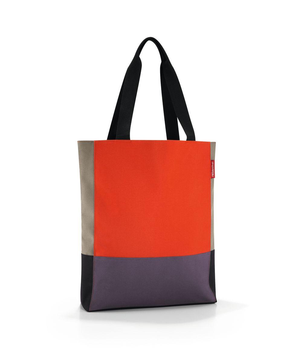 Сумка женская Reisenthel, цвет: оранжевый, серый, черный. HW3031HW3031Вместительная женская сумка Reisenthel изготовлена из полиэстера. Сумка имеет одно отделение, которое закрывается на застежку-молнию. Внутри имеется прорезной карман на застежке-молнии. Изделие оснащено двумя текстильными ручками, которые позволяют носить сумку на плече или на запястье. Практичная сумка Reisenthel станет незаменимой в повседневной жизни, в путешествии, а так же ее можно использовать для похода по магазинам или на пикник.