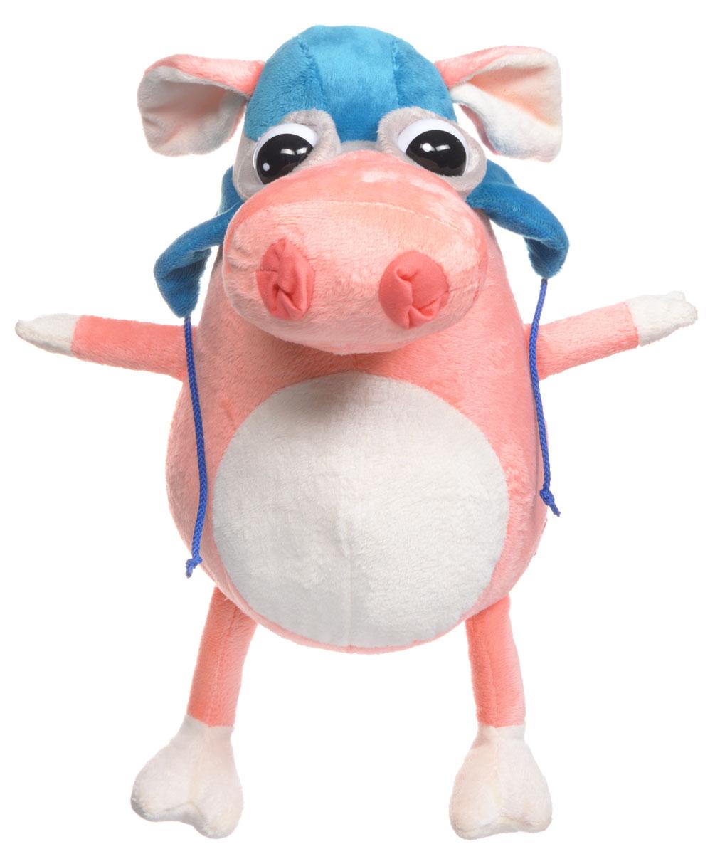 Fancy Мягкая игрушка Свинка пилот 25 смSKP0Мягкая игрушка Fancy Свинка пилот, выполненная в виде забавной свинки, вызовет умиление и улыбку у каждого, кто ее увидит. Игрушка изготовлена из высококачественных материалов. Удивительно мягкая игрушка принесет радость и подарит своему обладателю мгновения нежных объятий и приятных воспоминаний. Симпатичная игрушка, которая неизменно будет радовать вашего ребенка, а также способствовать полноценному и гармоничному развитию его личности.