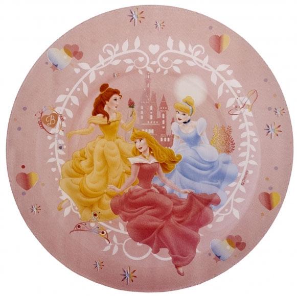 Тарелка десертная Luminarc Disney Princess Beauties, диаметр 19,5 смH1486Десертная тарелка Luminarc Disney Princess Beauties, изготовленная из ударопрочного стекла, декорирована изображением диснеевских принцесс. Такая тарелка прекрасно подходит как для торжественных случаев, так и для повседневного использования. Тарелка Luminarc Disney Princess Beauties идеальна для подачи десертов, пирожных, тортов и многого другого. Она прекрасно оформит стол и станет отличным дополнением к вашей коллекции кухонной посуды. Диаметр тарелки (по верхнему краю): 19,5 см. Высота стенки: 1,6 см.