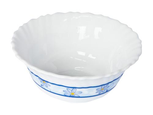 Салатник Luminarc Gloria, диаметр 24 смK2366Салатник Luminarc Gloria, декорированный красивым цветочным рисунком, изготовлен из высококачественного ударопрочного стекла. Изделие устойчиво к повреждениям и истиранию, в процессе эксплуатации не впитывает запахи и сохраняет первоначальные краски. Салатник достаточно вместительный, идеально подходит для сервировки салатов, горячих блюд, различных закусок. Посуда Luminarc обладает не только высокими техническими характеристиками, но и красивым эстетичным дизайном. Luminarc - это современная, красивая, практичная столовая посуда. Можно использовать в СВЧ и посудомоечной машине.