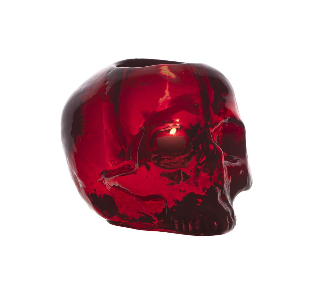 Still life skull red подсвечник d 115mm. 70611107061110