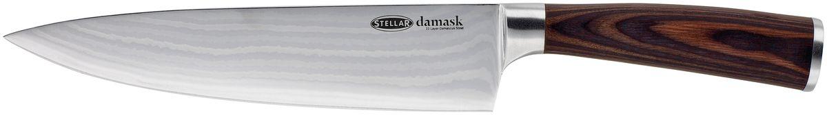 STELLAR Кухонный нож из Дамасской стали (20см). ID17ID17STELLAR Кухонный нож из Дамасской стали (20см).Порадуйте себя и близких классическим английским дизайном.