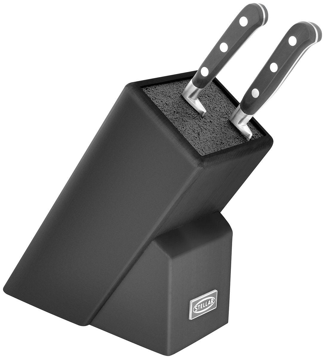 Стойка для ножей (черная). SK92BSK92BСтойка для ножей (черная).Удобно хранить ножи и мыть саму стойку.Порадуйте себя и близких классическим английским дизайном.