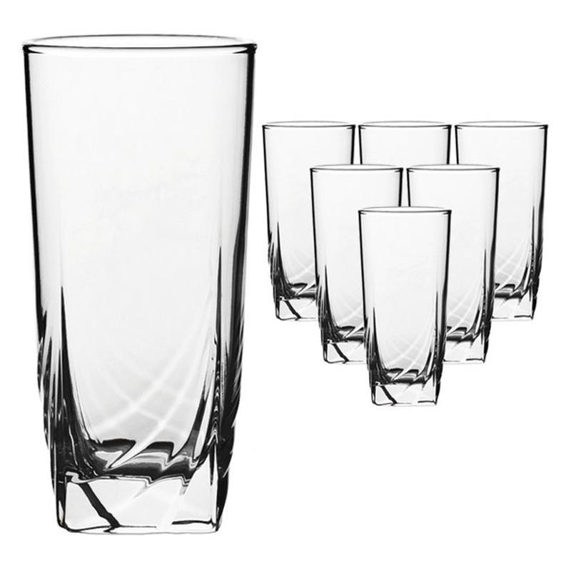 Набор стаканов Luminarc Ascot, 330 мл, 3 штH7698Набор Luminarc Ascot состоит из 3 высоких стаканов, выполненных из высококачественного стекла. Изделия имеют изысканный дизайн, утонченную форму и ослепительный блеск. Подходят для сока, воды, лимонада и других напитков. Такой набор станет прекрасным дополнением сервировки стола, подойдет для ежедневного использования и для торжественных случаев. Можно мыть в посудомоечной машине. Диаметр стакана (по верхнему краю): 7 см. Высота стакана: 14 см.