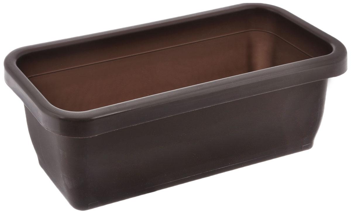 Ящик для рассады Альтернатива, цвет: коричневый, 36 х 15 х 12,5 смМ1013_коричневыйЯщик Альтернатива изготовлен из качественного пластика. Предназначен для выращивания рассады как на балконе, так и в комнатных условиях.