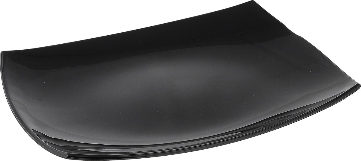 Блюдо Luminarc Quadrato Black, 35 см х 25,5 смD6408Блюдо Luminarc Quadrato Black изготовлено из ударопрочного стекла. Изделие выполнено квадратной формы. Блюдо Luminarc доставит истинное удовольствие ценителям прекрасного. Яркий дизайн, несомненно, придется вам по вкусу. Можно использовать в микроволновой печи и мыть в посудомоечной машине. Размер блюда (по верхнему краю): 35 см х 25,5 см. Высота блюда: 4 см.