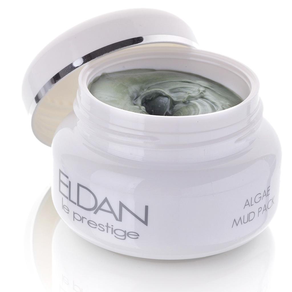 ELDAN cosmetics Грязевая маска с водорослями для лица Le Prestige, 100 млELD-31Маска подходит как для молодой, так и для зрелой кожи. Благодаря содержанию лечебных грязей, природных глин и водорослей обладает очищающими, увлажняющими, противовоспалительными и антисептическими свойствами.Усиливает клеточную регенерацию, повышает тонус и эластичность кожи, сокращает поры, корректирует мелкие морщины. Улучшает микроциркуляцию,выравнивает цвет лица.