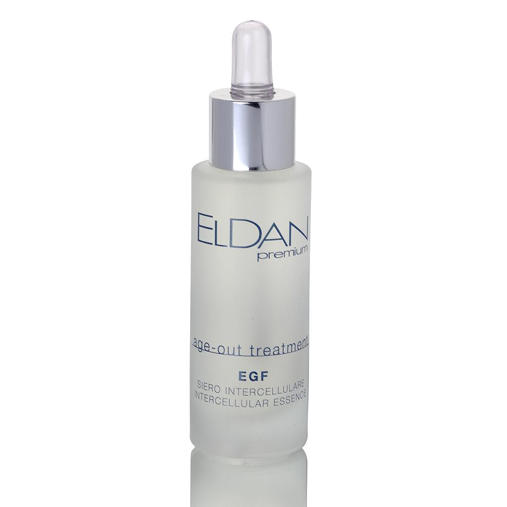 ELDAN cosmetics Активная регенерирующая сыворотка для лица EGF Premium age out treatment, 30 млELD-95Сыворотка с эпидермальным фактором роста (EGF) обладает выраженным регенерирующим эффектом, она активно стимулирует рост и функциональню активность фибробластов для повышения синтеза коллагеновых волокон. Содержит комплекс активных anti-age ингредиентов, которые оказывают антиоксидантное, увлажняющее действие. Экстракт шафрана способствует осветлению пигментных пятен и выравниванию микрорельефа, тонизирует кожу.