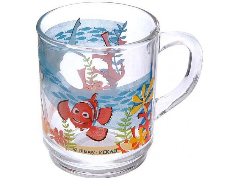 Кружка Luminarc Nemo, 250 мл21661Кружка Luminarc Nemo изготовлена из высококачественного стекла. Изделие прекрасно подойдет для горячих и холодных напитков. Такая кружка понравится вашим детям. Она дополнит коллекцию кухонной посуды и будет служить долгие годы. Объем кружки: 250 мл. Диаметр кружки (по верхнему краю): 7 см. Диаметр дна: 6,2 см. Высота кружки: 9 см.