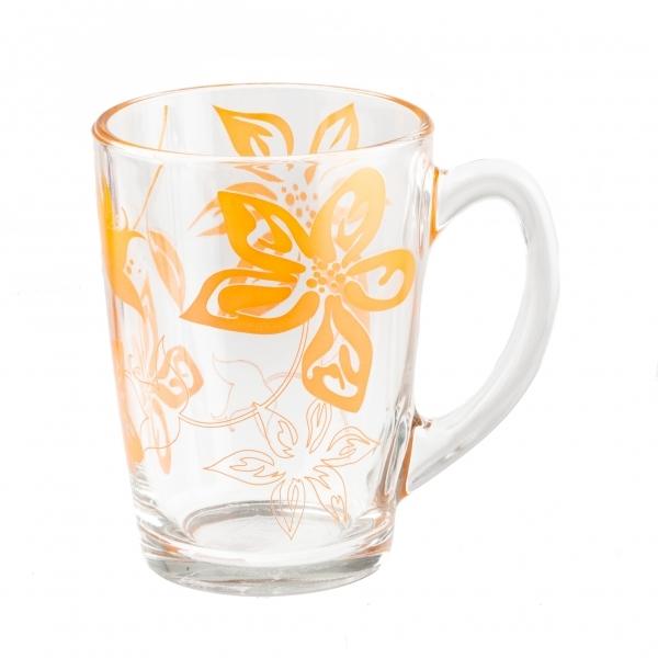 Кружка Luminarc Lily Flower, 320 млG7149Кружка Luminarc Lily Flower изготовлена из упрочненного стекла. Такая кружка прекрасно подойдет для горячих и холодных напитков. Она дополнит коллекцию вашей кухонной посуды и будет служить долгие годы. Диаметр кружки (по верхнему краю): 8 см. Высота стенки кружки: 11,5 см.