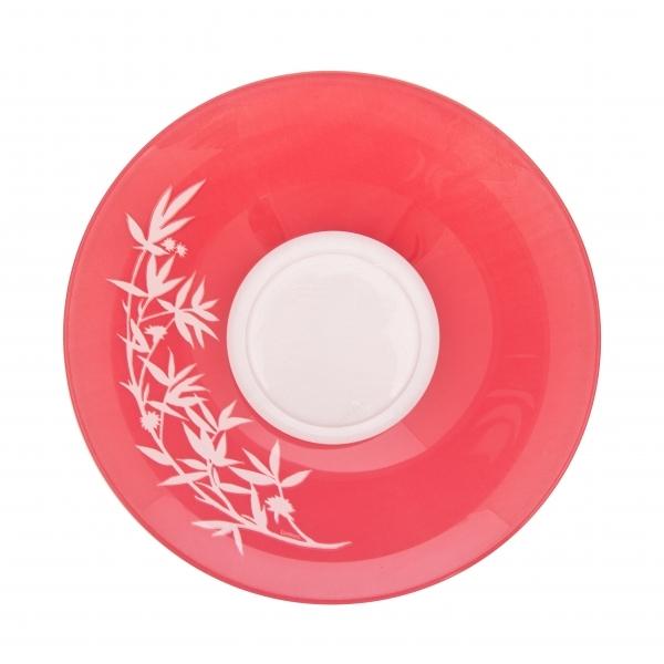 Салатник Luminarc Darjeeling, цвет: прозрачный, розовый, диаметр 27 смH3572Салатник Luminarc Darjeeling выполнен из ударопрочного стекла. Яркий дизайн придется по вкусу и ценителям классики, и тем, кто предпочитает утонченность и изысканность. Салатник Luminarc Darjeeling идеально подойдет для сервировки стола и станет отличным подарком к любому празднику. Диаметр салатника(по верхнему краю): 27 см. Диаметр дна: 11,5 см. Высота салатника: 8,5 см.