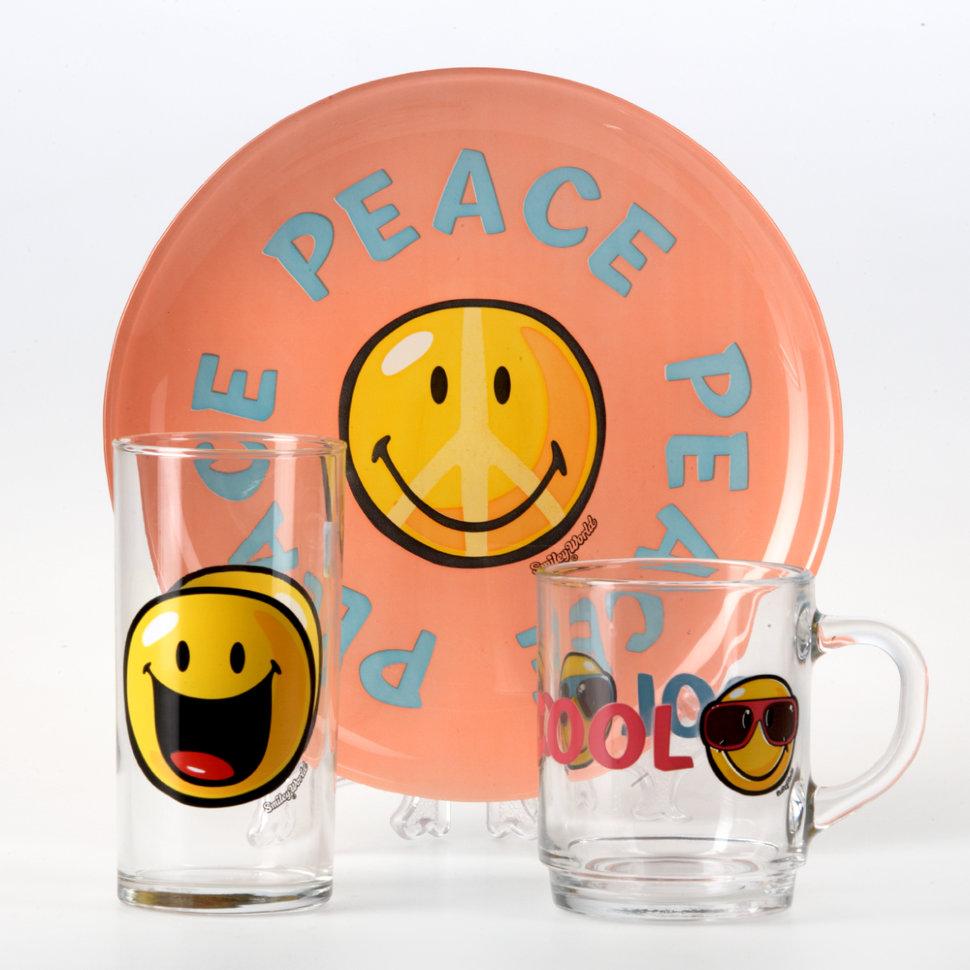 Набор детской посуды S3 SMILEY WORLD FIRST CHILD H5319H5319