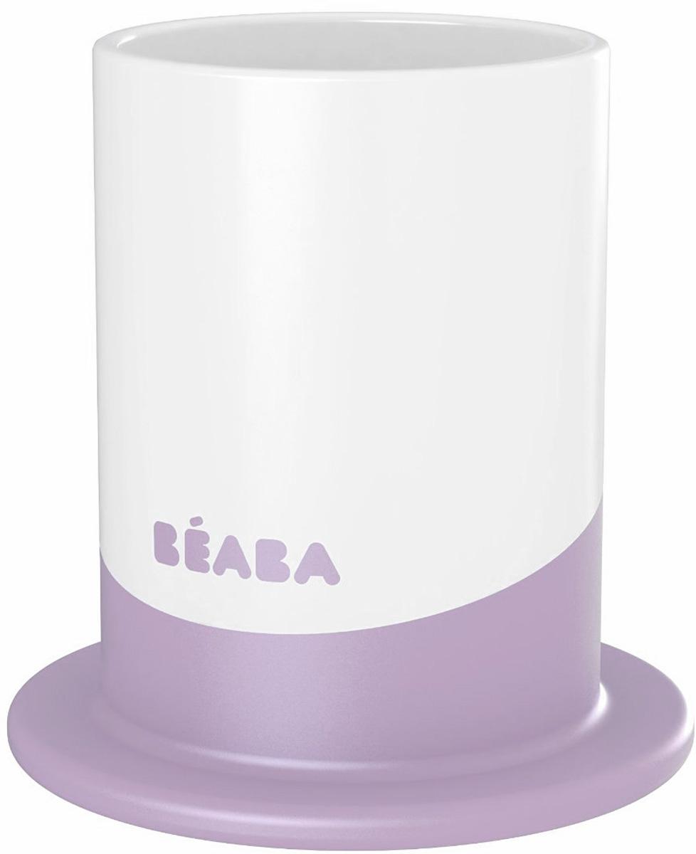 Beaba Пластиковый стакан Ellipse сиреневый 150 мл913272_сиреневыйПластиковый стакан Beaba Ellipse емкостью 150 мл выполнен из безопасных материалов. Эргономичная форма удобна для держания маленькими детскими ручками. Дно снабжено прорезиненным кольцом, исключающим скольжение стакана по поверхности стола. Можно мыть в посудомоечной машине.