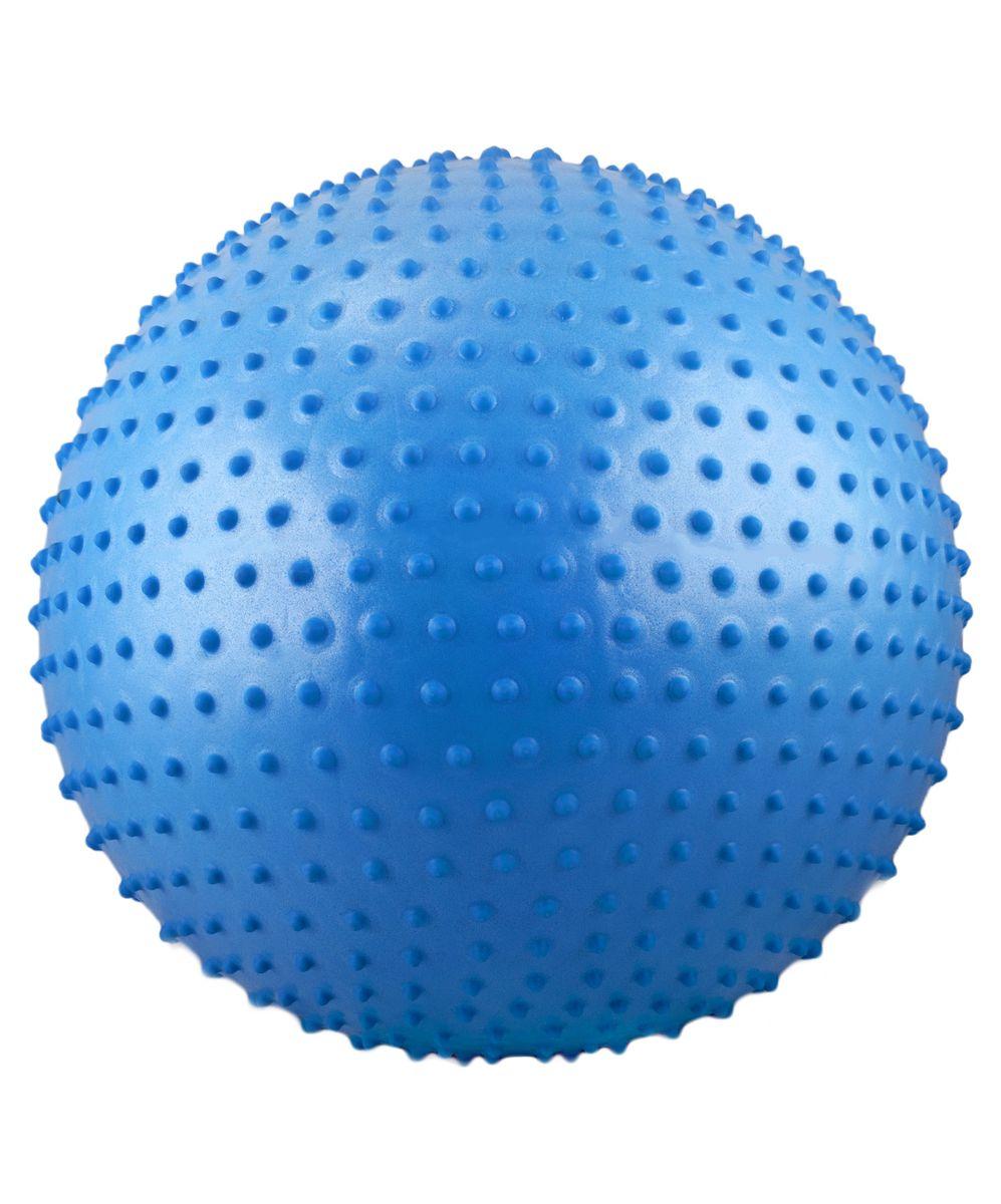 """Мяч гимнастический """"Starfit"""", антивзрыв, массажный, цвет: синий, диаметр 55 см УТ-00007206"""