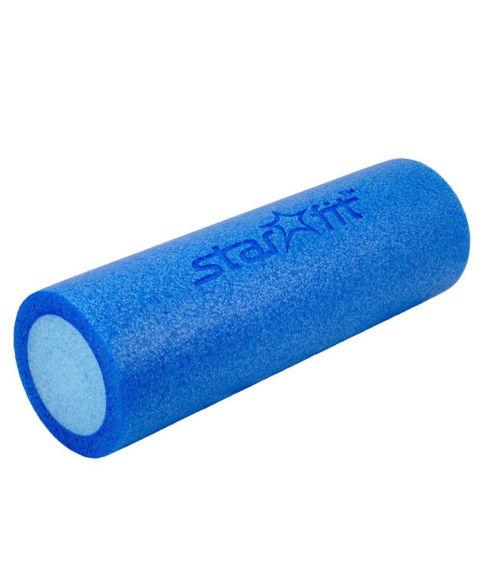 Валик для йоги и пилатеса STAR FIT FA-501 15*45см, синий/голубой ( УТ-00007263 )