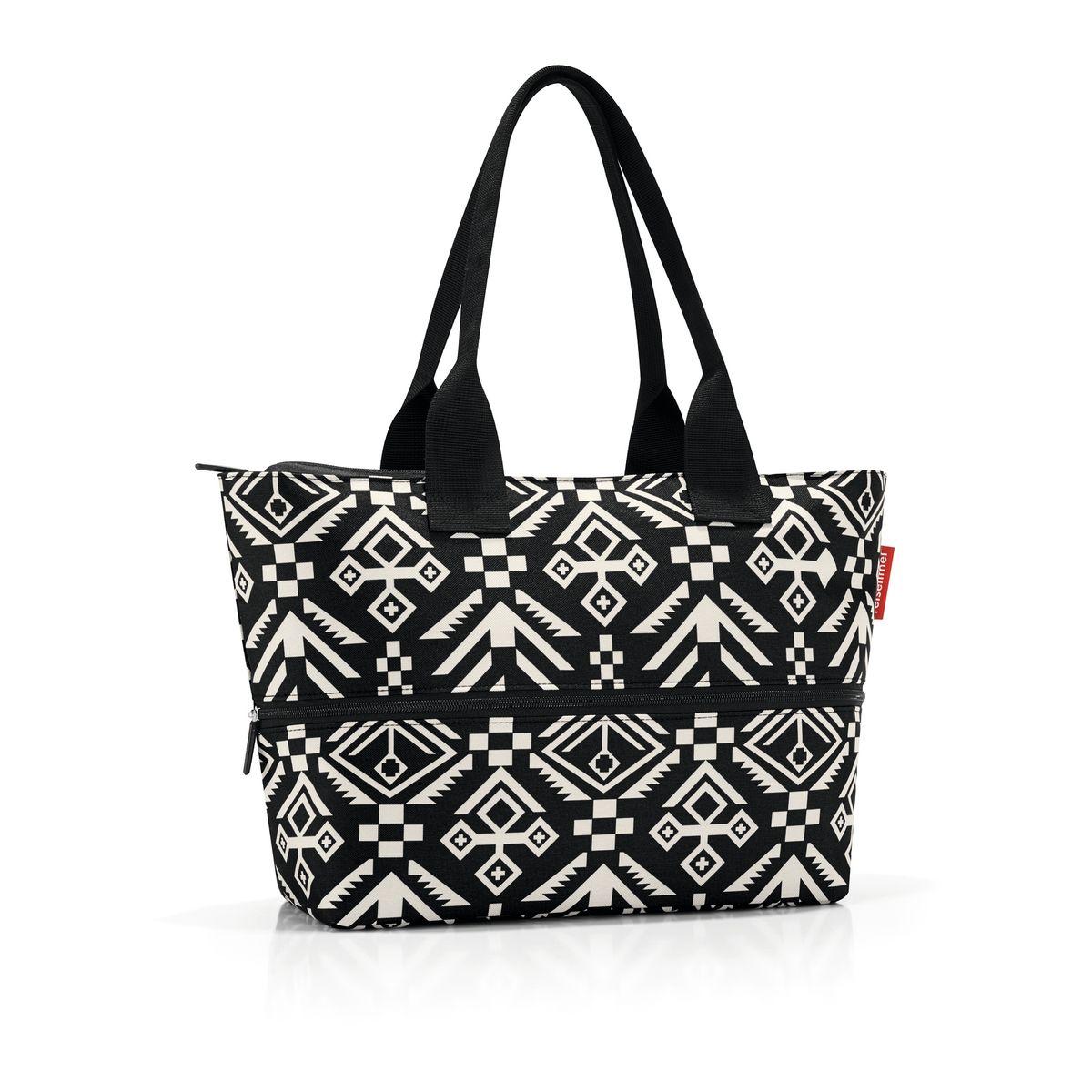 Сумка-шоппер женская Reisenthel Shopper E1 hopi, цвет: черный. RJ7034
