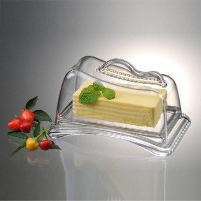 Масленка ProdynePL-61Масленка Prodyne, изготовленная из высококачественного акрила, состоит из подноса и прозрачной крышки. Крышка плотно закрывается, сохраняя масло вкусным и свежим. Изделие поможет красиво сервировать сливочное масло или спрэд к столу. Масленка Prodyne станет прекрасным дополнением к коллекции ваших кухонных аксессуаров. Рекомендуется ручная мойка без использования абразивных моющих средств. Размер подноса: 18,5 см х 11,5 см х 2,5 см. Размер крышки: 16,5 см х 9,5 см х 10 см.