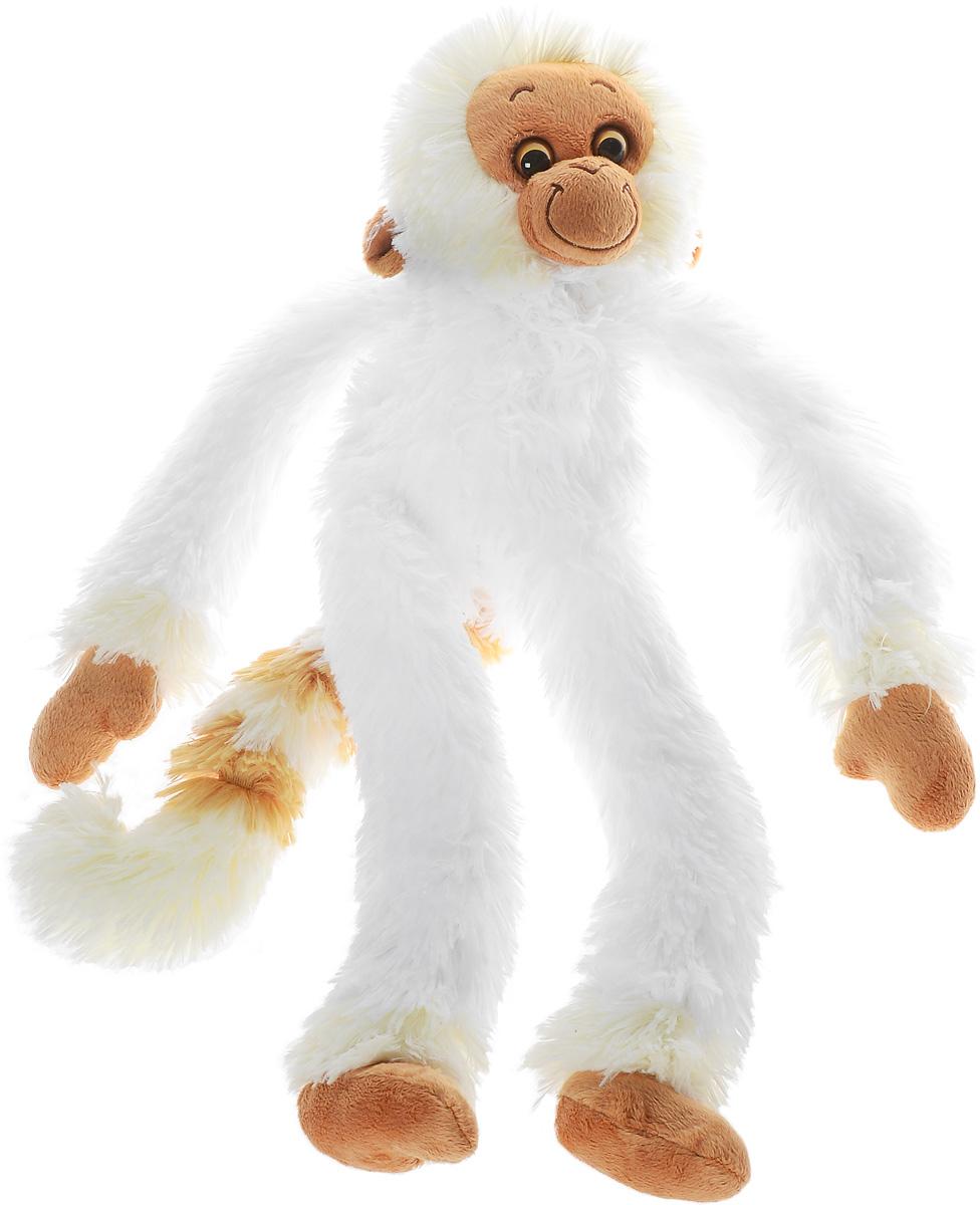СмолТойс Мягкая игрушка Обезьянка Машка-обнимашка цвет белый 60 см2111/БЕЛ/60Мягкая игрушка СмолТойс Обезьянка Машка-обнимашка - символ 2016 года, станет отличным подарком и принесет новогоднее настроение в ваш дом. Изготовлено изделие из высококачественных нетоксичных материалов, абсолютно безопасных для ребенка. Забавная обезьянка выполнена в бело- коричневой цветовой гамме с пластиковыми глазками. Игрушка очень похожа на своего живого прототипа. Великолепное качество исполнения делает эту игрушку чудесным подарком, как для ребенка, так и для взрослых. Уход за игрушкой: стирка при максимальной температуре 30°С, не гладить.