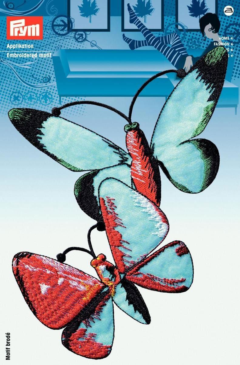 Термоаппликация Prym Большие бабочки, 13 х 19 см7706529Вышитая термоаппликация Prym Большие бабочки изготовлена из 100% полиэстера. Изделие оснащено с оборотной стороны клеящейся основой, которая без труда закрепляется при помощи утюга. Для большей надежности вы также можете пришить ее по краям, предотвращая отклеивание после многократных стирок. Термоаппликация выполнена в виде изображения птицы и оформлена по краю вышивкой.
