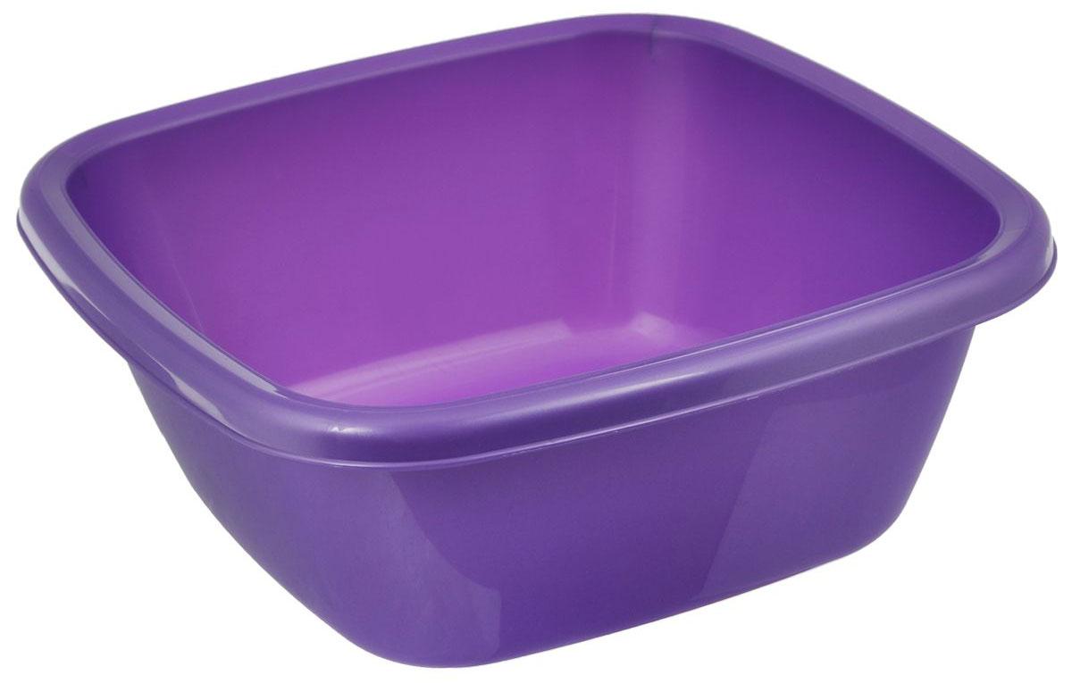 Таз Dunya Plastik, цвет: фиолетовый, 4 л. 1011610116_фиолетовыйКвадратный таз Dunya Plastik выполнен из прочного пластика. Он предназначен для хранения разных вещей и бытовых мелочей. По бокам имеются специальные углубления, которые обеспечивают удобный захват. Такой таз пригодится в любом хозяйстве.