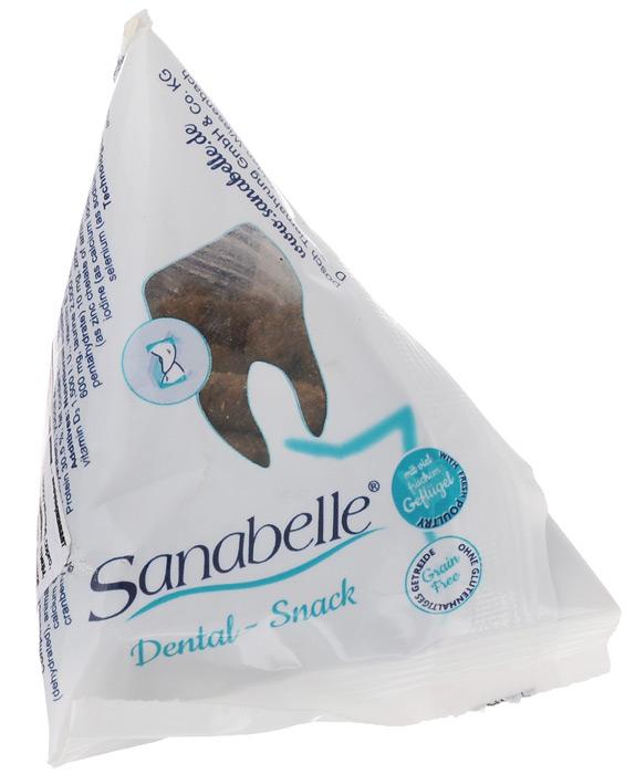 Лакомство для кошек Sanabelle Dental-Snack, для очищения поверхности зубов, 20 г9453005Лакомство для кошек Sanabelle Dental-Snack оказывает очищающий эффект на поверхность зубов, положительно влияет на полезную микрофлору ротовой полости, тем самым эффективно препятствует возникновению различных заболеваний. Суточная норма - не более 5-7 крокет. Состав: мука из свежего мяса, маис, животный жир, ячмень, пшеничная мука, жировая клетчатка, печень, гидролизованное мясо, рыбная мука, кукурузный глютен, цельные яйца, льняное семя, мякоть свеклы (без сахара), дрожжи. Анализ состава: протеин - 30,5%, жир - 20%, клетчатка - 5,00%, зола - 5,50%. Товар сертифицирован.