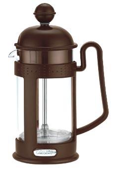 Френч-пресс Calve, 400 млCL-1551Френч-пресс Calve, выполненный из стекла, пластика и нержавеющей стали, практичный и простой в использовании. Засыпая чайную заварку под фильтр и заливая ее горячей водой, вы получаете ароматный чай с оптимальной крепостью и насыщенностью. Остановить процесс заварки чая легко. Для этого нужно просто опустить поршень, и заварка уйдет вниз, оставляя вверху напиток, готовый к употреблению. Современный дизайн полностью соответствует последним модным тенденциям в создании предметов бытовой техники.
