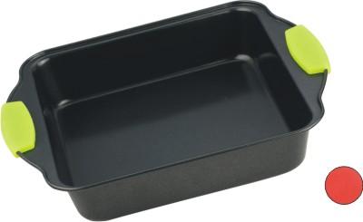 Форма для выпечки Calve, с антипригарным покрытием, цвет: серый, зеленый, 20,5 х 20,5 смCL-4581Форма для выпечки Calve изготовлена из высококачественной углеродистой стали с антипригарным покрытием и оснащена ручками с силиконовыми вставками. Форма равномерно и быстро прогревается, что способствует лучшему пропеканию пищи. Ее легко чистить. Готовая выпечка без труда извлекается. Форма подходит для использования в духовке. Перед каждым использованием ее необходимо смазать небольшим количеством масла. Изделие снабжено не нагревающимися ручками с силиконовым покрытием. Простая в уходе и долговечная в использовании форма для выпечки Calve станет верным помощником в создании ваших кулинарных шедевров. Можно мыть в посудомоечной машине. Размер формы (с учетом ручек): 27,5 х 22 х 5 см. Внутренний размер формы: 20,5 х 20,5 х 5 см.