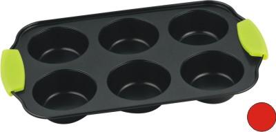 Форма для выпечки с антиприг. покрытием, 6 кругл. углублений. CL-4584CL-4584