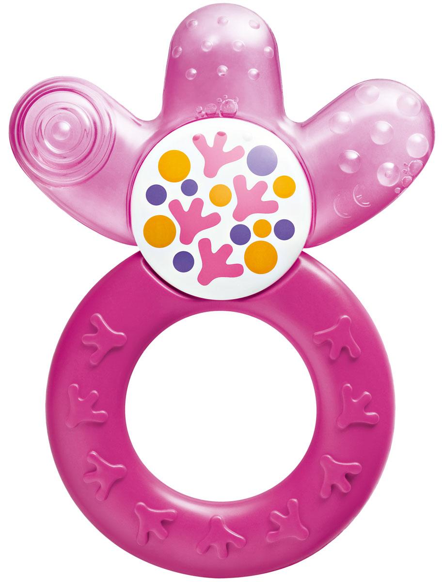МАМ Прорезыватель Cooler cooling teether охлаждающий цвет фиолетово-розовый