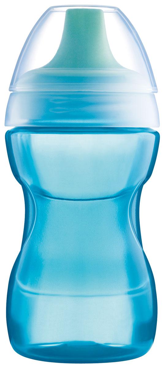 МАМ Поильник 270 мл цвет синий6586/3Бутылочка-поилка. Удобно держать. Антипроливайка. 270 мл