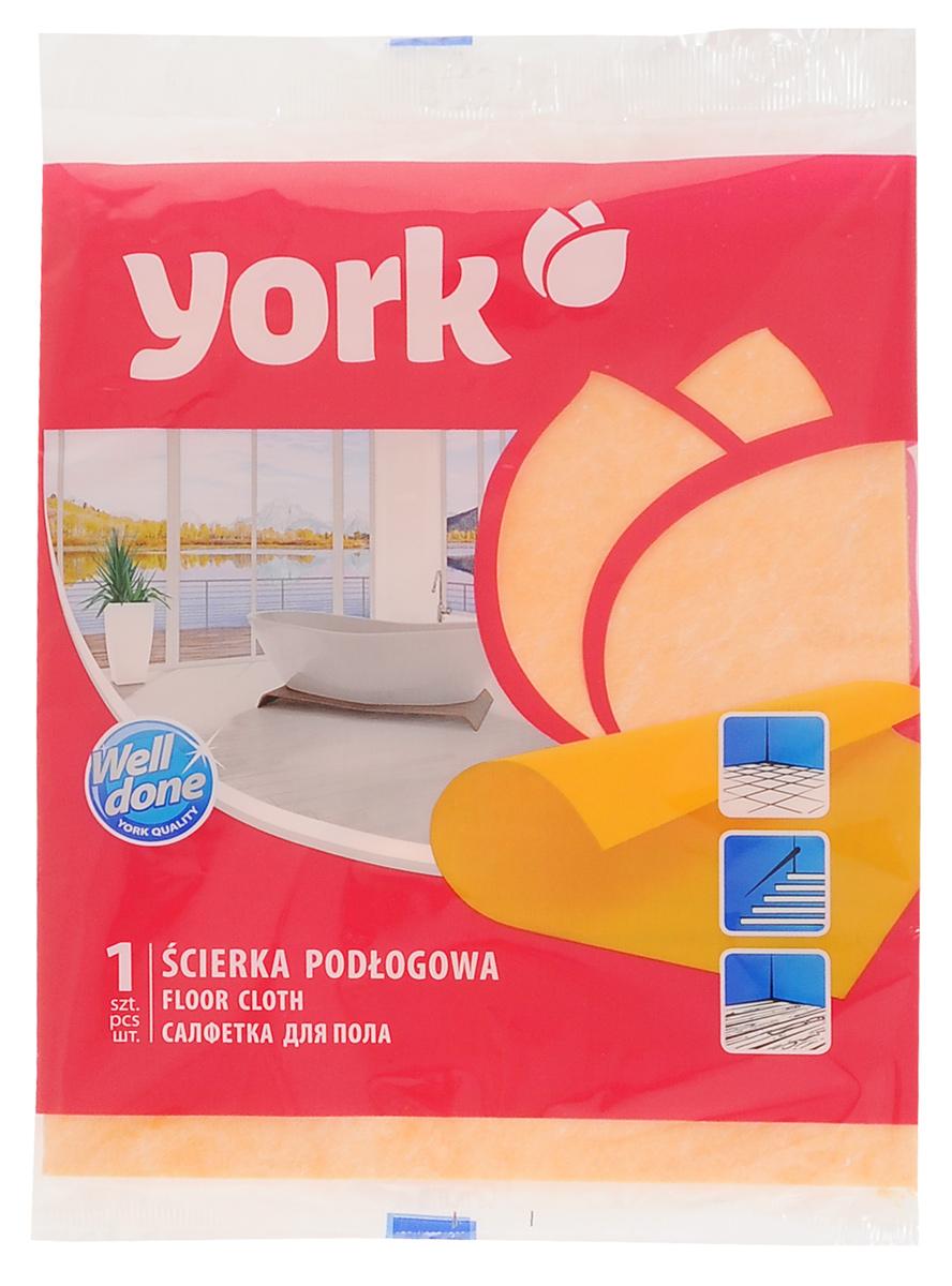 Салфетка для пола York, 50 см х 58 см2201Салфетка York для пола хорошо поглощает грязь, тщательно осушает и не оставляет клоков, легкая и приятная в использовании, идеальна для больших площадей. Выполнена из вискозы и полипропиленовых волокон.