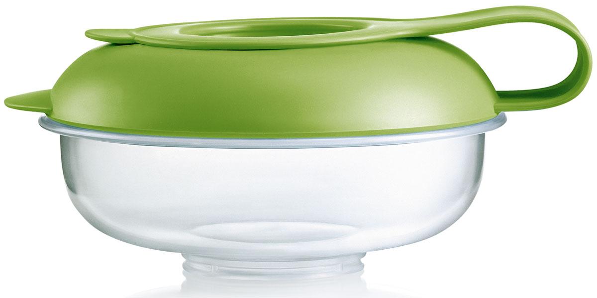 МАМ Контейнер для детского питания Snack box с зеленой крышкой6608EXP/2Защитная крышка предотвратит выпадание еды из контейнера. Практичная зачитная крышка легко превращается в поддон для контейнера