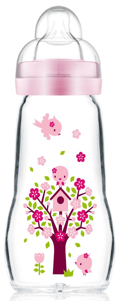 МАМ Бутылочка для кормления Feel Good Bottle цвет розовый 260 мл15739255EXP/2