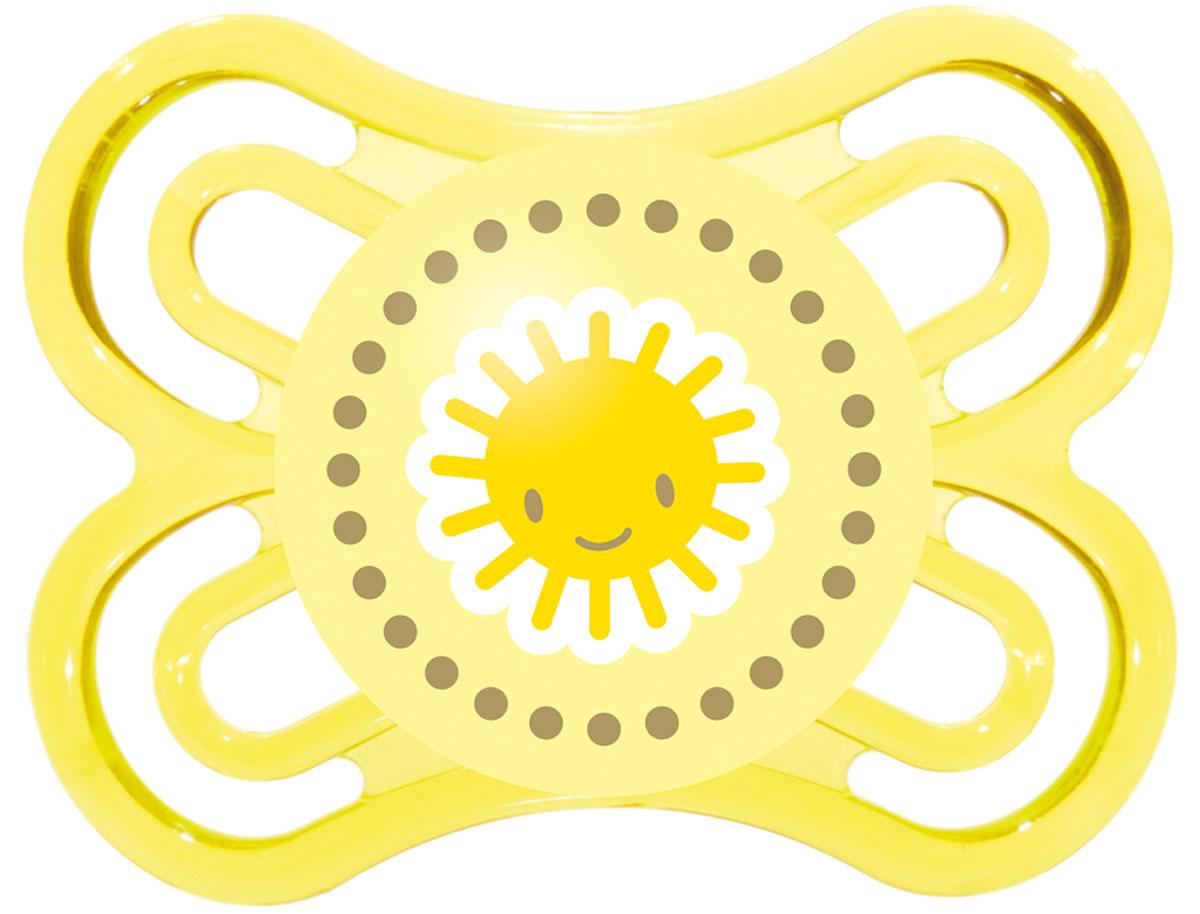 МАМ Пустышка Perfect Солнышко цвет желтый15739279EXP/1