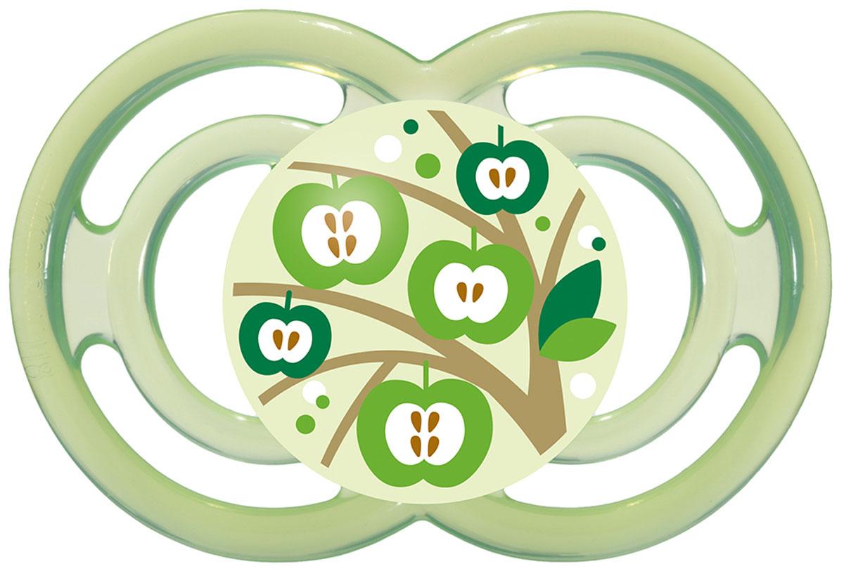 МАМ Пустышка Perfect Яблоня цвет зеленый от 6 месяцев15739281EXP/2