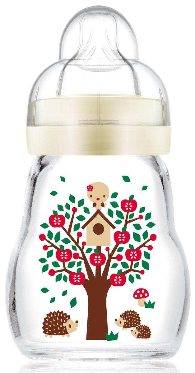 МАМ Бутылочка для кормления Feel Good Bottle цвет бежевый 170 мл15742064EXP/1