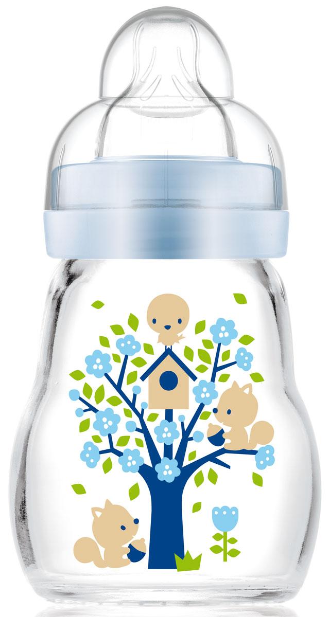МАМ Бутылочка для кормления Feel Good Bottle цвет голубой 170 мл15742064EXP/3