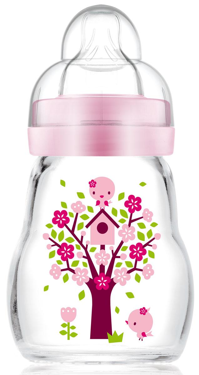 МАМ Бутылочка для кормления Feel Good Bottle цвет розовый 170 мл15742064EXP/2
