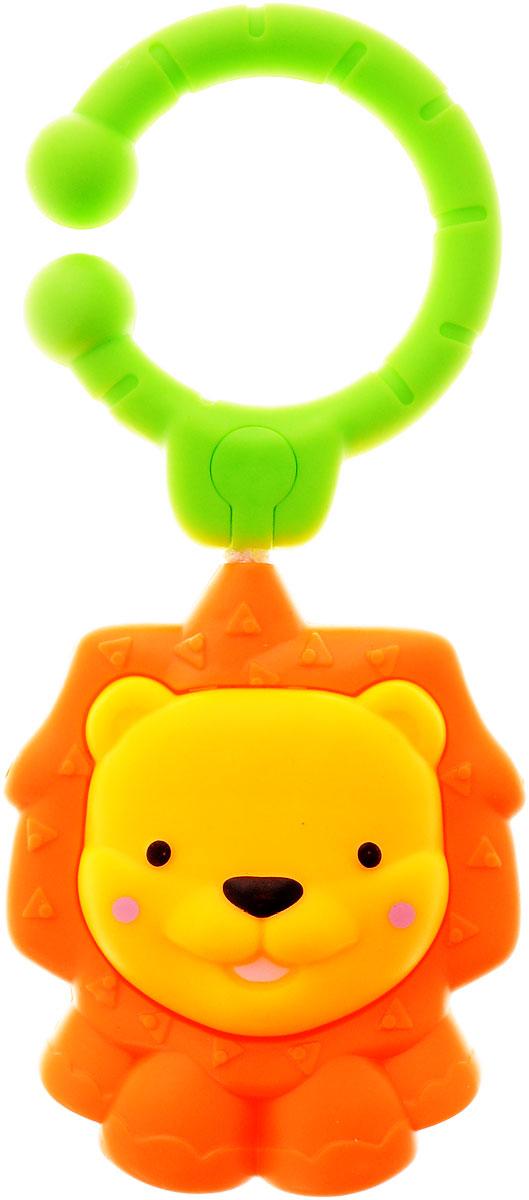 Simba Погремушка-подвеска Лев4011070_левПогремушка-подвеска Simba Лев поможет создать атмосферу уюта и спокойствия в детской комнате. Она выполнена из безопасных материалов в виде милого львенка. При нажатии на игрушку, она начинает пищать. Приятное звучание погремушки привлекает внимание малыша, развивает слуховое и пространственное восприятие. Яркие контрастные цвета развивают зрительное восприятие. Погремушка крепится к кроватке или коляске при помощи пластикового кольца.