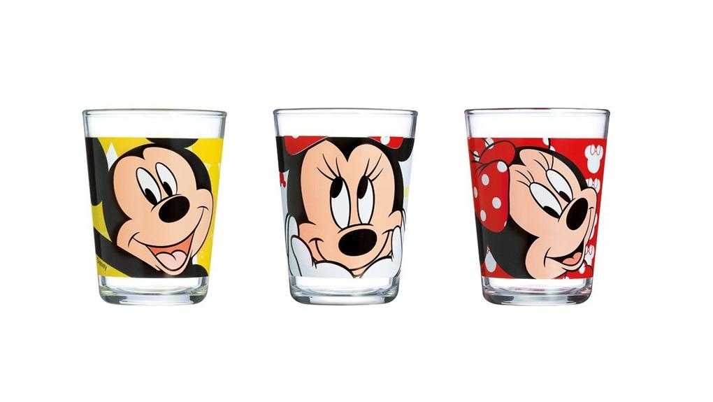 Набор стаканов Luminarc Minnie Mouse, 160 мл, 3 штH6444Набор Luminarc Minnie Mouse состоит из 3 стаканов, выполненных из высококачественного стекла. Изделия декорированы красочными рисунками мышки Minnie Mouse. Подходят для сока, воды, лимонада и других напитков. Такой набор обязательно понравится вашему ребенку. Можно мыть в посудомоечной машине. Диаметр стакана (по верхнему краю): 6,5 см. Высота стакана: 8,5 см.