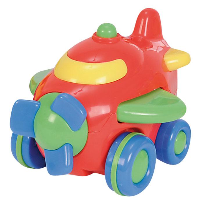 Simba Самолет инерционный цвет красный4015832_красныйЯркая инерционная игрушка Simba Самолет привлечет внимание вашего малыша и не позволит ему скучать! Выполненная из безопасного пластика, игрушка представляет собой забавный самолетик. Округлые без острых углов формы гарантируют безопасность даже самым маленьким. Для запуска установите игрушку на поверхность, немного подтолкните вперед или назад и отпустите, игрушка продолжит движение. Во время движения самолет машет крыльями, его винт вращается. Инерционная игрушка Самолет поможет ребенку в развитии воображения, мелкой моторики рук, концентрации внимания и цветового восприятия.