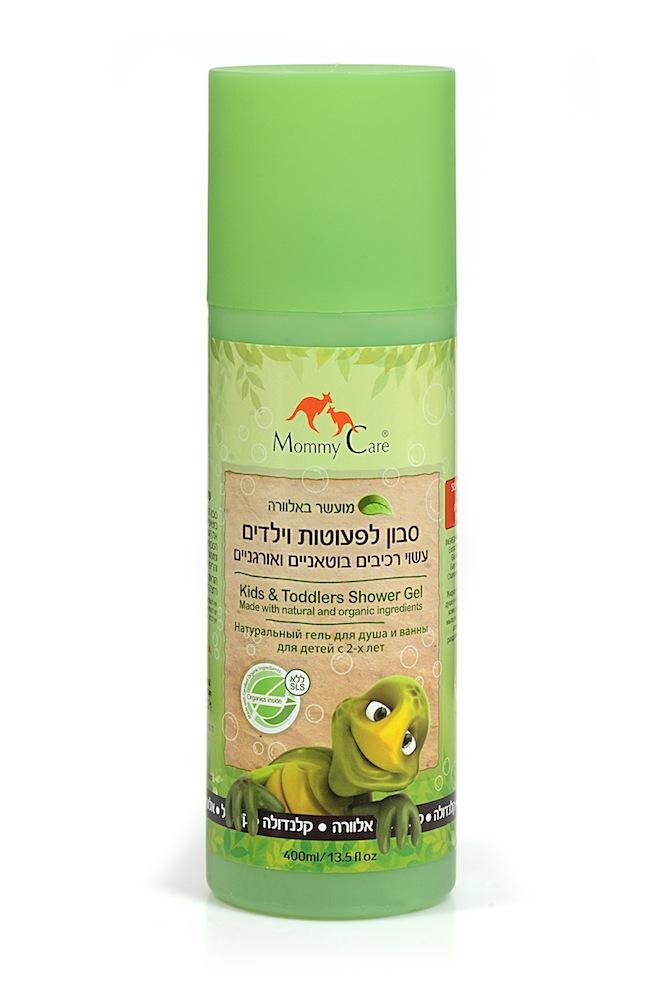 Mommy Care Натуральный гель для душа 400 мл1467Жидкое мыло для ежедневного использования в душе и ванне подходит для самой чувствительной кожи детей и взрослых. Мягко ухаживает за кожей. Натуральное травяное мыло включает экстракты календулы, ромашки и алоэ вера, которые прекрасно снимают раздражение кожи и способствуют заживлению малейших ссадин. Не содержит химических компонентов, парабенов, фталатов и SLS.