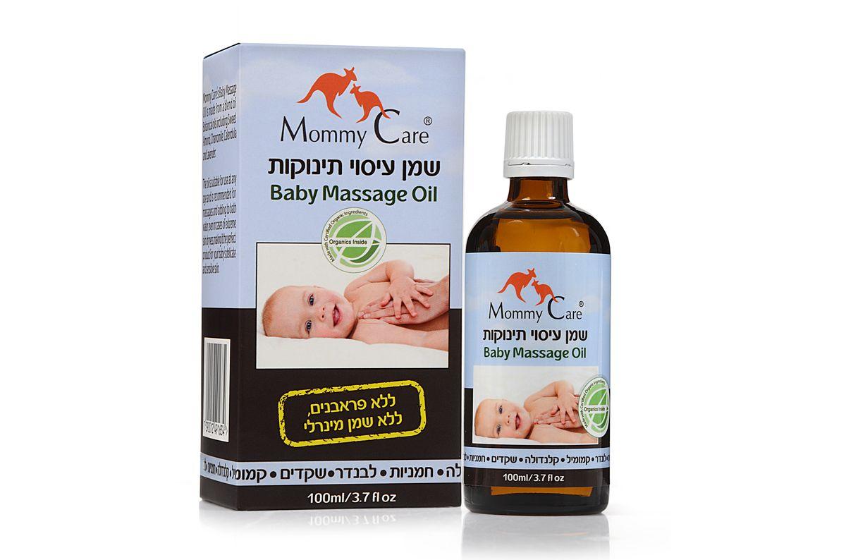 Mommy Care Органическое массажное масло детское 100 мл
