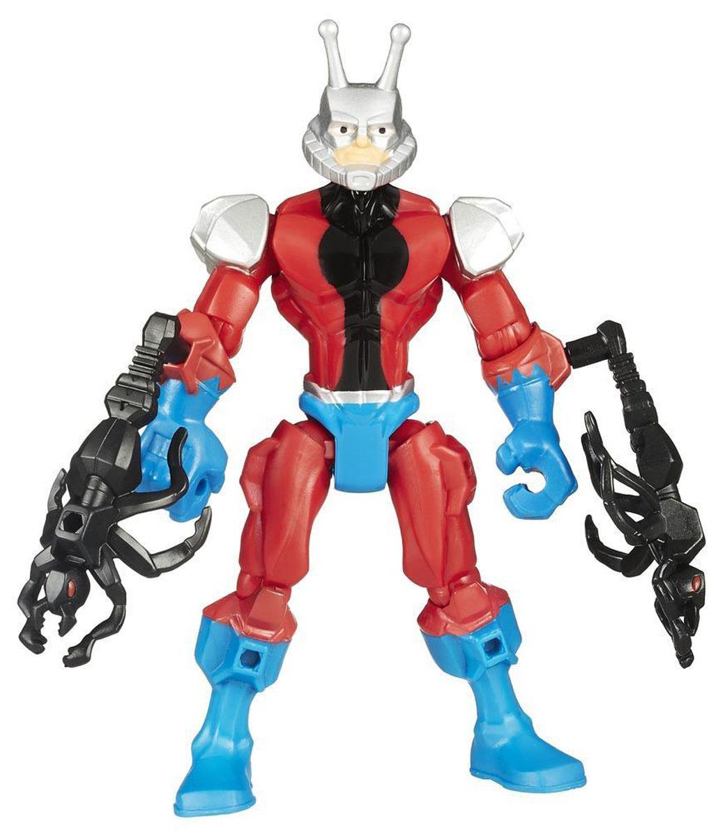 Hero Mashers Разборная фигурка Ant-manA6825EU4_B0877Разборная фигурка Super Hero Mashers Ant-man обязательно понравится любому маленькому поклоннику супергероя! Она выполнена из прочного пластика в виде грозного Человека-муравья. Руки и ноги отделяются от корпуса. В комплект входят фигурка героя с оружием в виде черных муравьев. Собрав коллекцию фигурок от Hasbro, вы сможете создать своего супергероя, объединяя способности разных героев комиксов Marvel. Все элементы обладают единым способом крепления, что позволяет создавать различные комбинации. Ребенок с удовольствием будет играть с фигуркой, придумывая разные истории. Порадуйте его таким замечательным подарком!