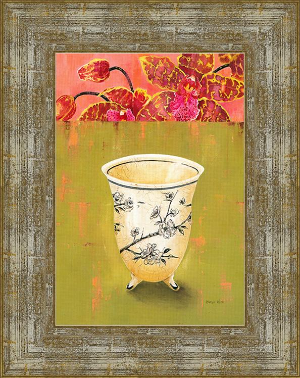 Kiwi Orchid Detail (Kathryn White), 17 х 22 см17x22 D3000-414095Художественная репродукция картины Kathryn White Kiwi Orchid Detail. Размер постера:17 см х 22 см. Артикул: 17x22 D3000-414095.