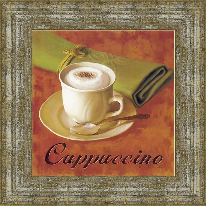 Капучино (Fabrice de Villeneuve), 18 x 18 см18x18 D3365-414095Художественная репродукция картины Fabrice de Villeneuve Solo Cappuccino. Размер постера: 18 см x 18 см. Артикул: 18x18 D3365-414095.